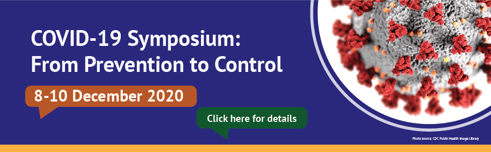 COVID-19 Symposium: From Prevention to Control